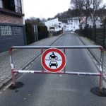 Die Wiesenwegbrücke ist wieder gesperrt.