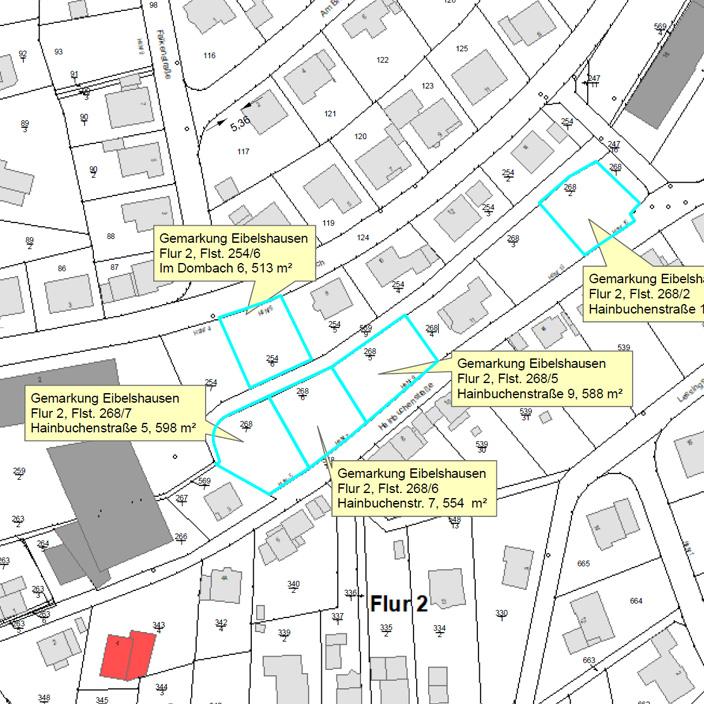 Baugebiet Hainbuchenstraße