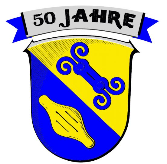 Jubiläums-Logo 50 Jahre Gemeinde Eschenburg
