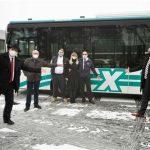 Start für den Expressbus